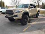 "2016+ TOYOTA TACOMA CALI-RAISED 32"" COMBO SINGLE ROW LOWER BUMPER FLUSH LED LIGHT BAR SYSTEM - BARE Outfitters Co."