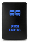 "TOYOTA OEM STYLE ""DITCH LIGHTS"" SMALL SWITCH - BARE Outfitters Co."