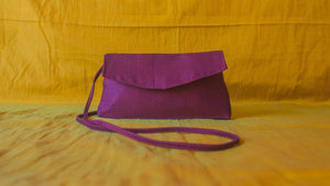 Personalised premium khunn sling bag- purple - WEAR COURAGE