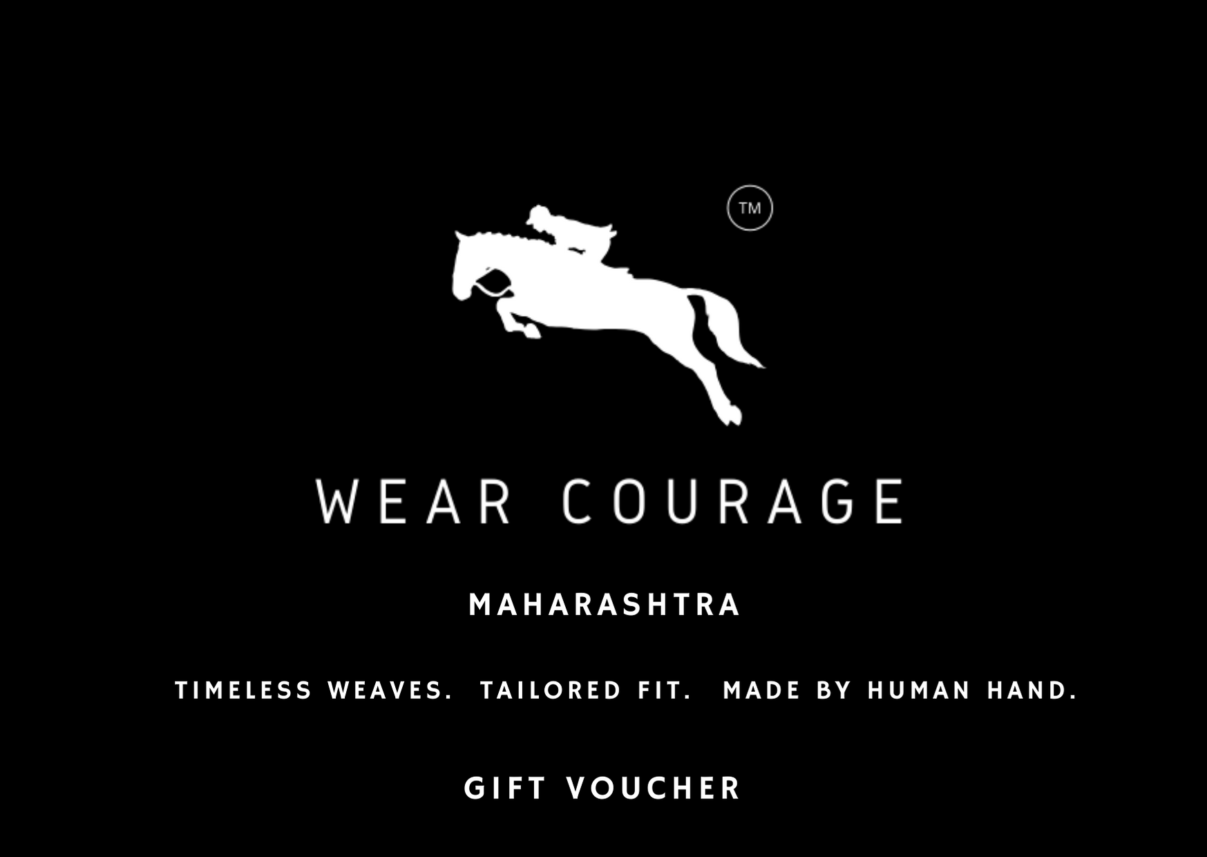 WEAR COURAGE GIFT VOUCHER - WEAR COURAGE