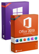 Microsoft Windows 10 Pro + Office Professional Plus 2019 as a set