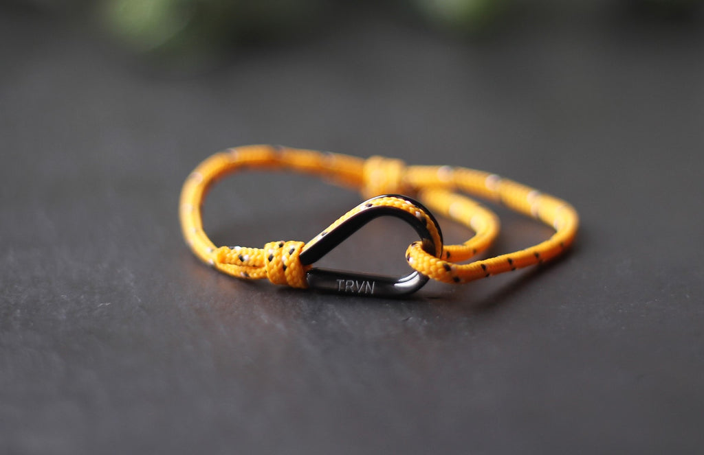 UNISEX Rope Bracelet in Orange Color