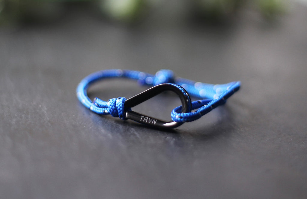 UNISEX Rope Bracelet in Indigo Blue Color