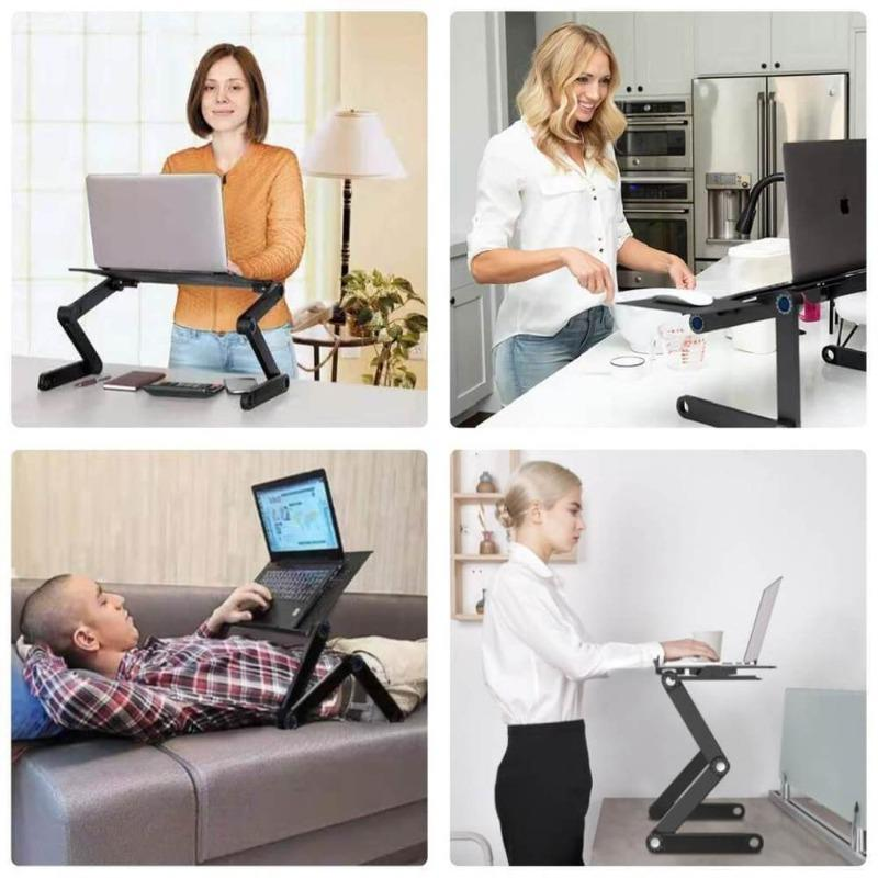 DeskEnjoy™ - LE SUPPORT BUREAU ERGONOMIQUE PORTABLE