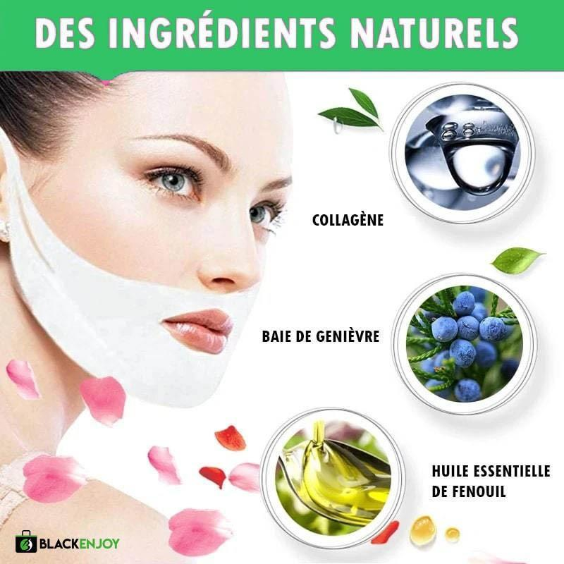 LiftEnjoy™ - Masque facial liftant (5 MASQUES)