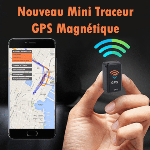 TrackEnjoy™ - Traceur GPS Magnétique