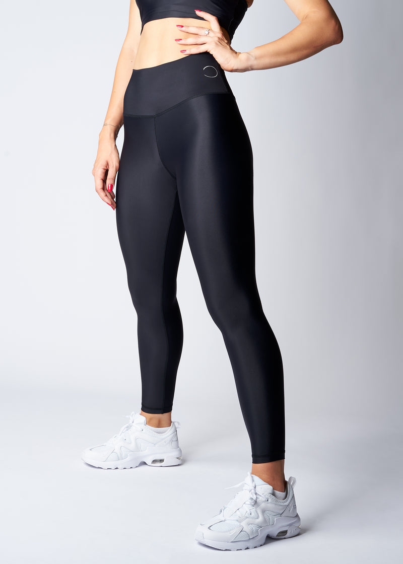 High-waisted leggings - Dark night - Save The Wave