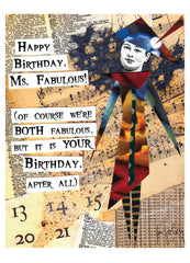 Fabuloso! Birthday Card Pack