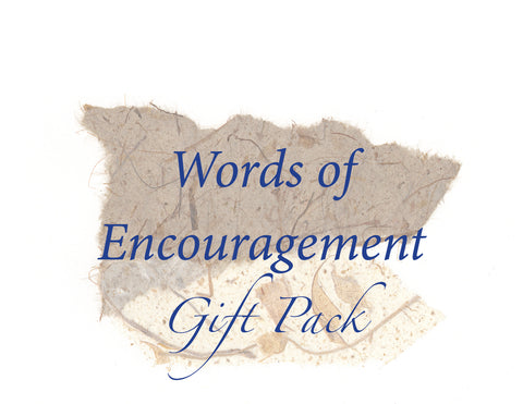 Words of Encouragement Card Pack