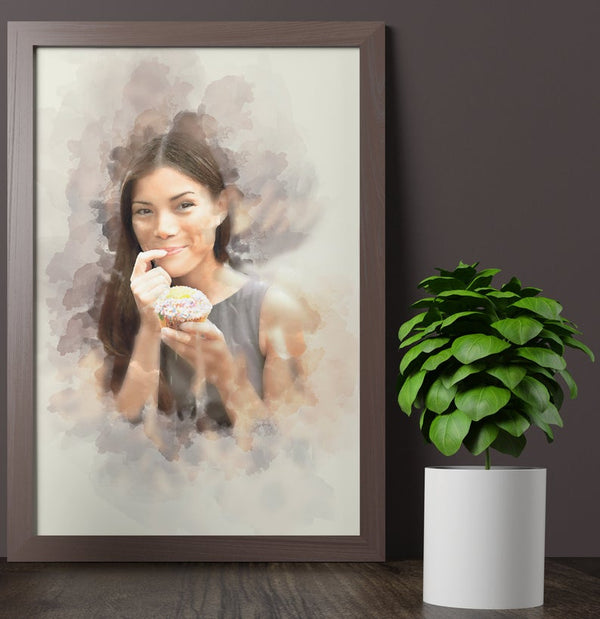 Personalized Digital Painting Portrait
