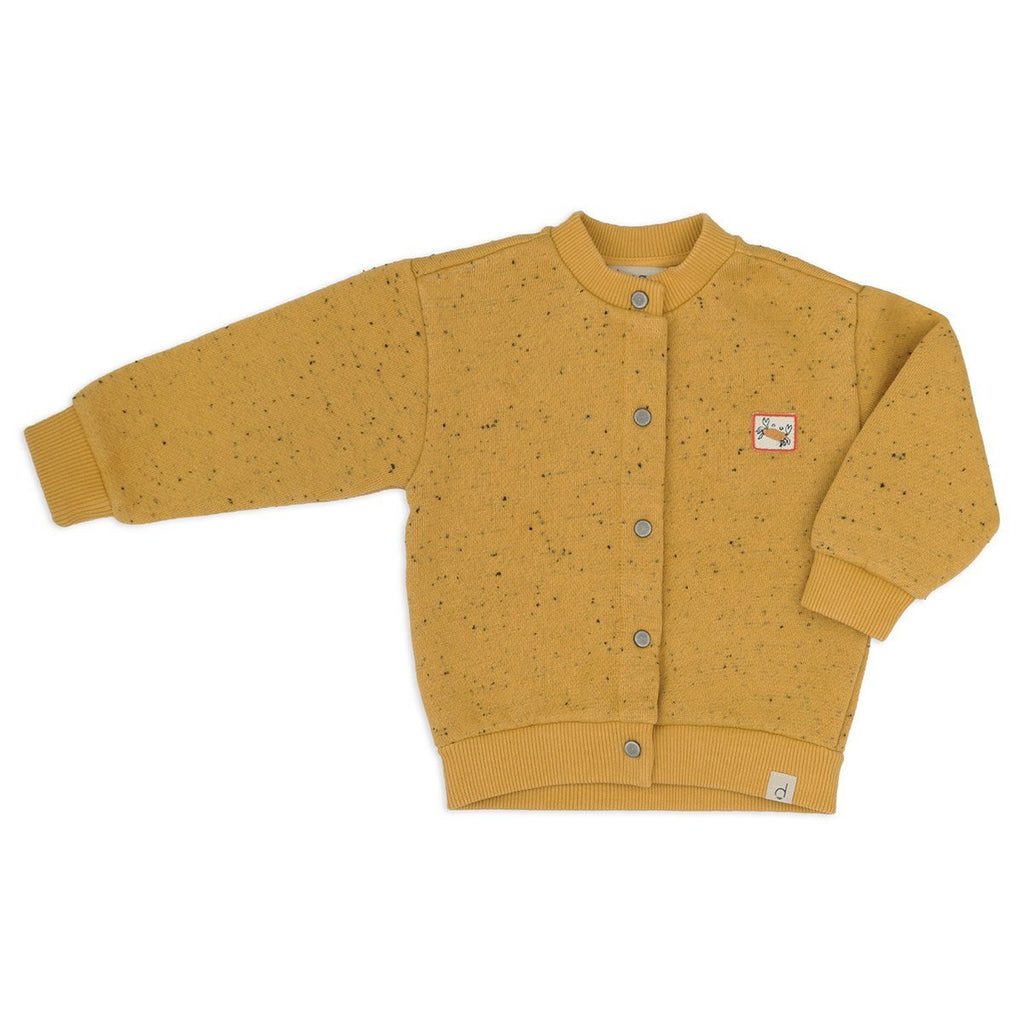 Dusq - Sweat Cardigan - Mellow Yellow Dusq