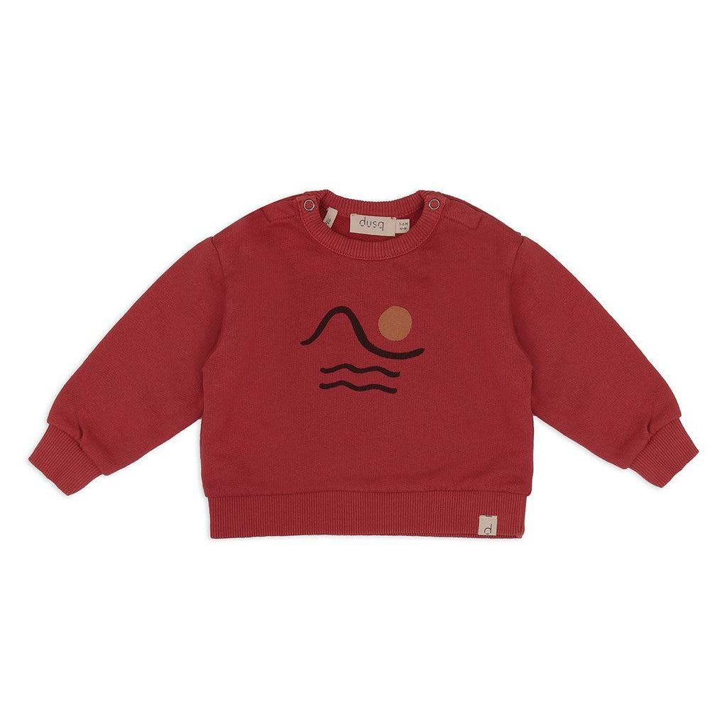 Dusq - Sweater - Clay Red Dusq