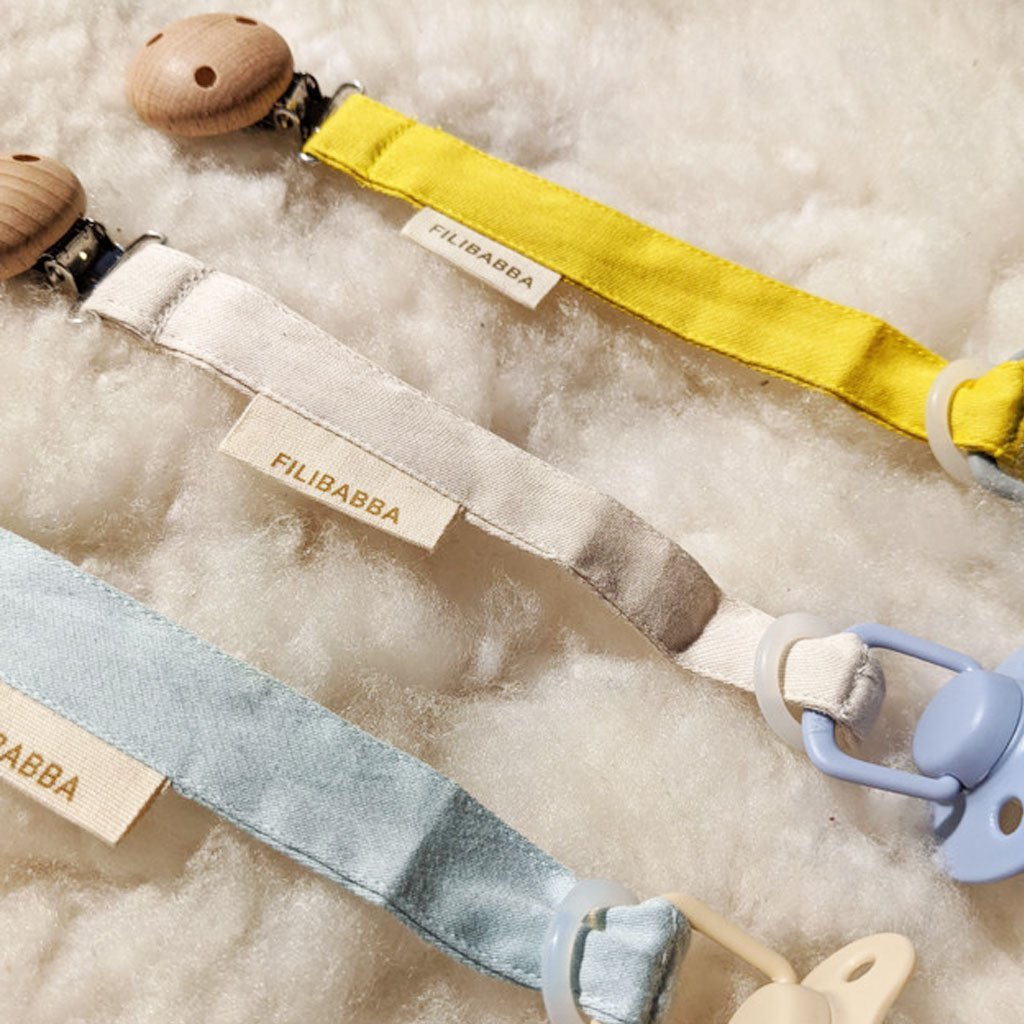Filibabba - Pacifier Clip - Blue Filibabba