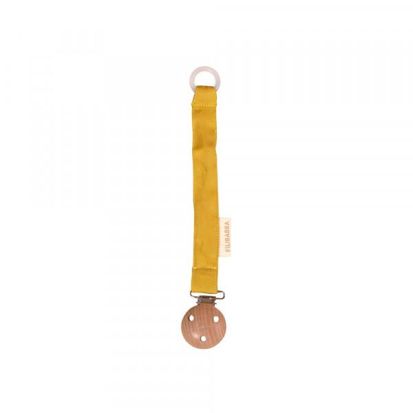 Filibabba - Pacifier Clip - Lemon Filibabba