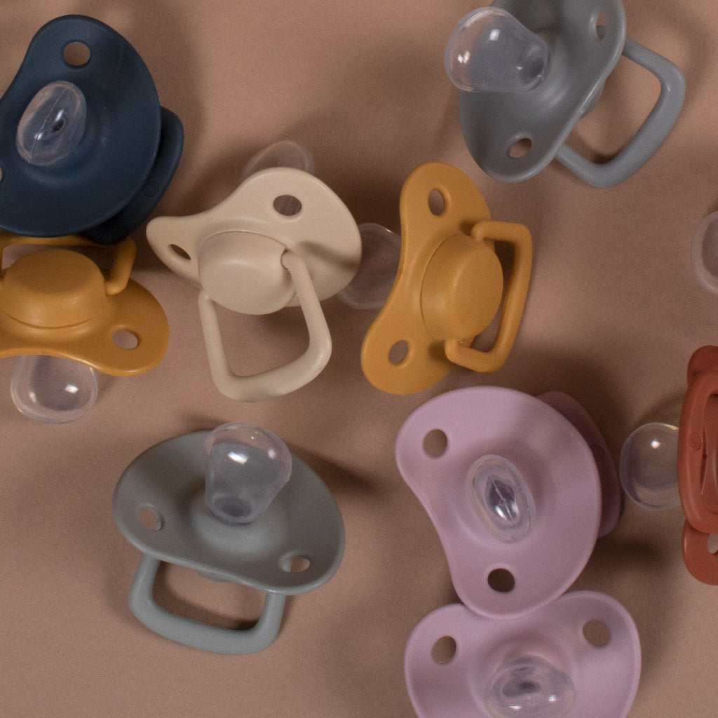 Filibabba - Pacifier Set 0-6 Months - Dusty Rose Filibabba