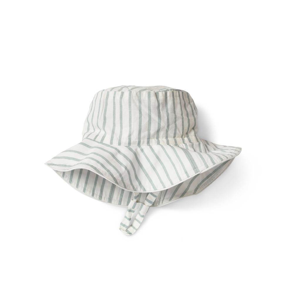 Pehr - Stripes Away Bucket Hat - Sea Pehr
