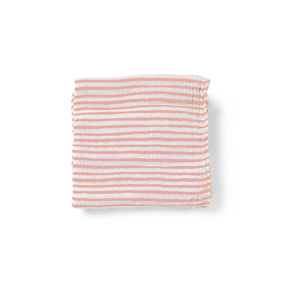 Pehr - Stripes Away Count the Ways Cloth - Pink Pehr