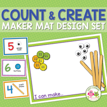 Load image into Gallery viewer, Count & Create Maker Mat Design Set