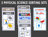 Physical Science Sorting Activities for Preschool and PreK