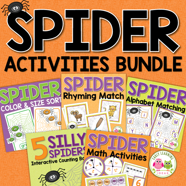 Spider Activity Bundle