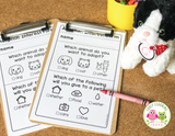 Animal Shelter Dramatic Play Printables