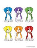 Dog Color Matching Activity