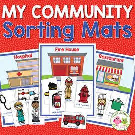 Community Helpers Sorting Activity