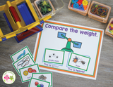 Comparing Weights - Measurement Activities with a Balance Scale