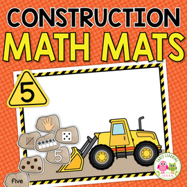 Construction Theme 1-20 Math Mats