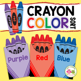 Crayon Color Matching Activity