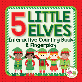 5 Little Elves Interactive Counting Book