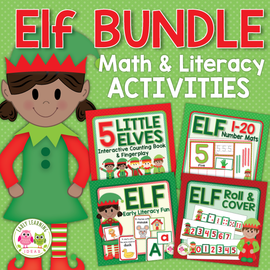 Christmas Elf Activity Bundle