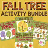 Fall Tree Activity Bundle