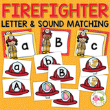 Firefighter Alphabet & Beginning Sound Activity