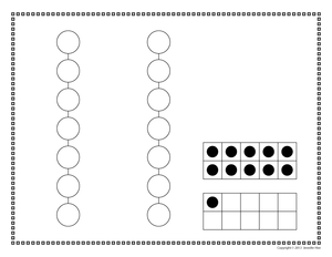 Number Dot Activity Sheets for 0-20