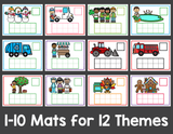 Counting and Number Mats for the Year