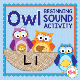 Owl Beginning Sound Activity