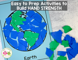 Paper Tearing Fine Motor Activities to Build Hand Strength
