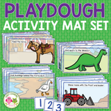 Playdough Mats for Playdough Boxes