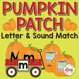 Pumpkin Alphabet & Beginning Sound Activity