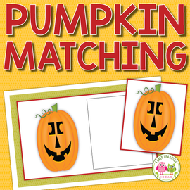 Pumpkin Matching Activity