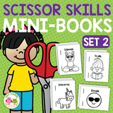 Scissor Practice Set 2 | Cutting Practice Mini Books