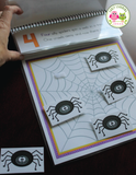 Five Silly Spiders Interactive Counting Book