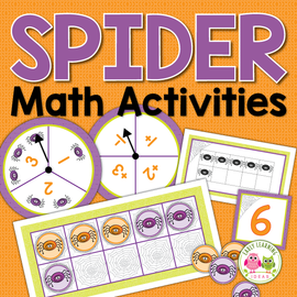 Spider Math Activities
