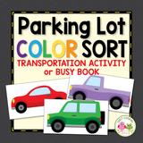 Transportation Color Matching Activity