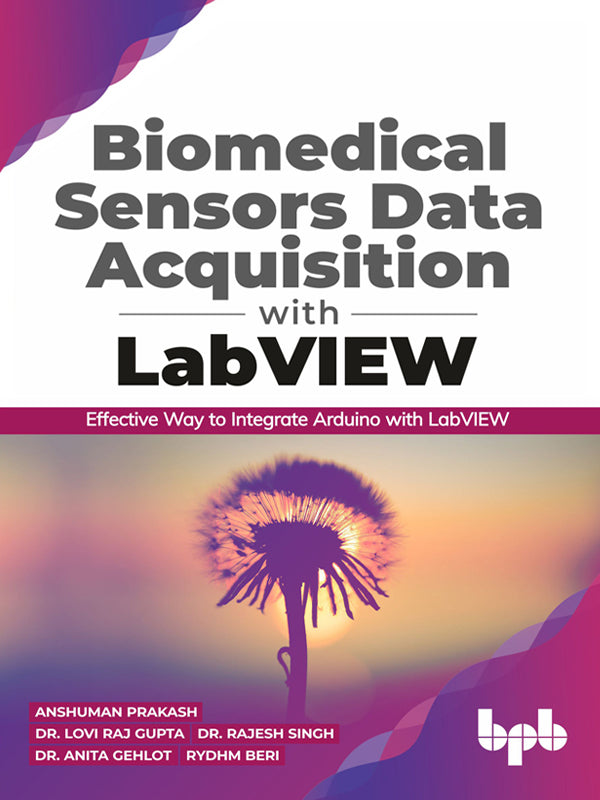 Biomedical Sensors Data Acquisition with LabVIEW