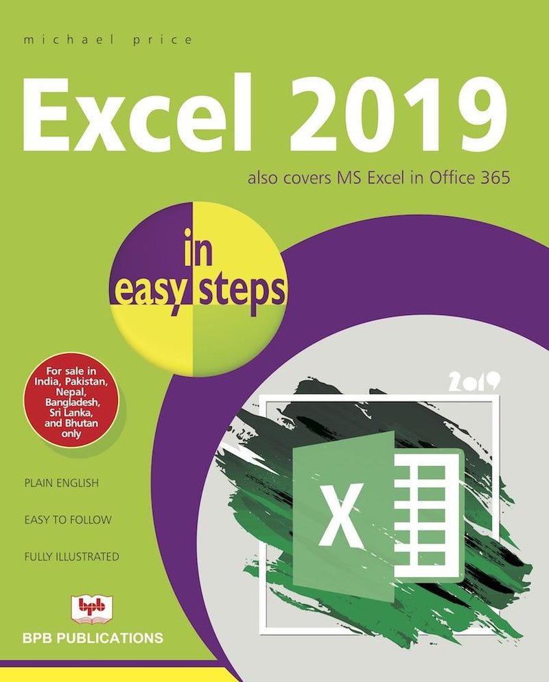 Excel 2019: In Easy Steps