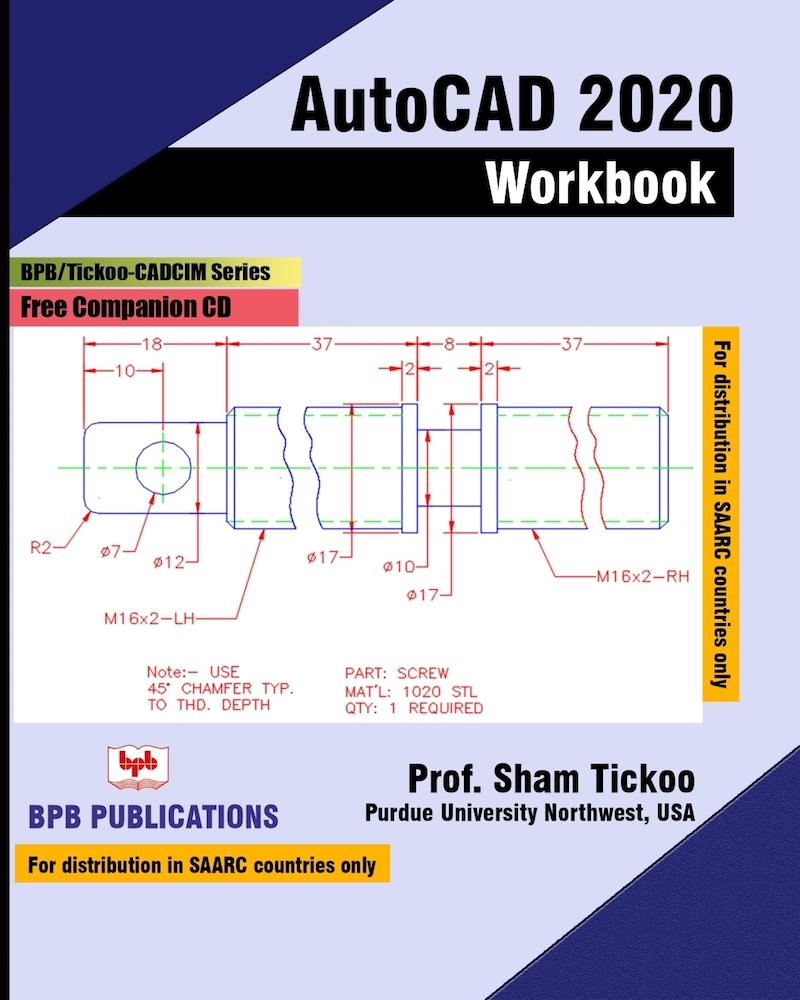 AutoCAD 2020 Workbook