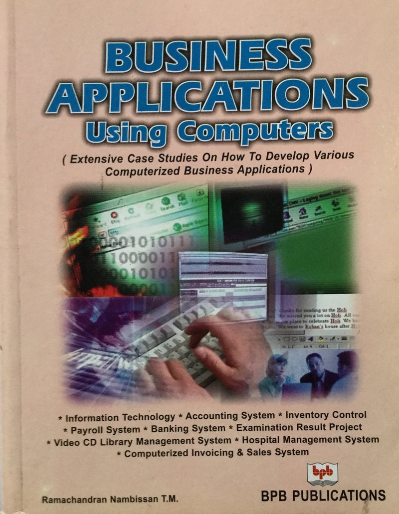 Business Applications Using Computer books