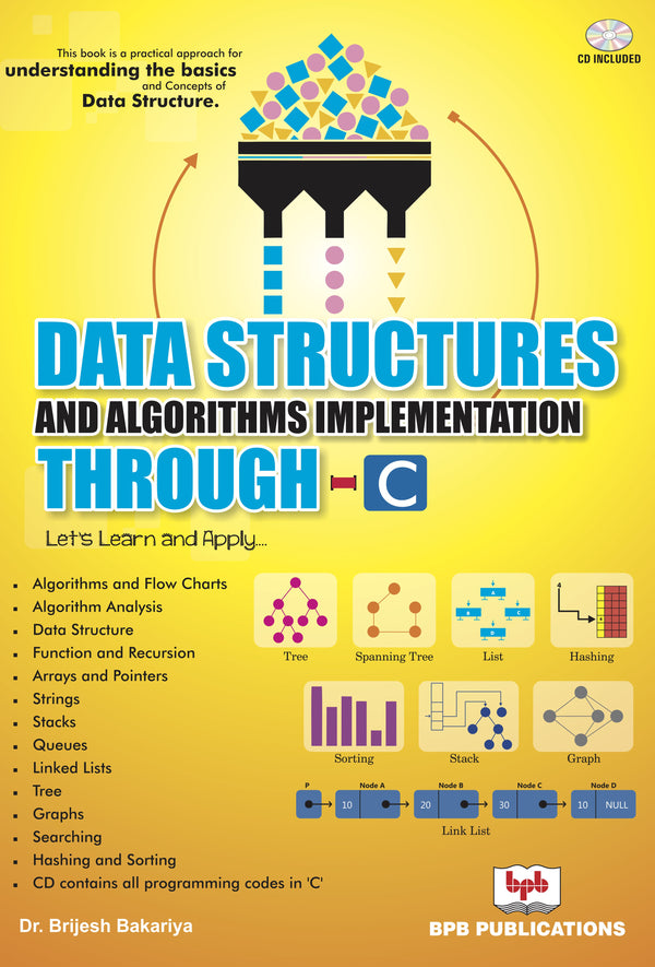 Data Strucures and Algorithms Implimentation Through C